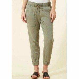 Cloth & Stone Pocket Jogger Tencel Army Green